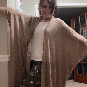 Kerisma long wrap cardigan shawl S